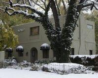 Casa unica del lusso dello stucco Fotografia Stock