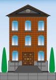 Casa urbana Imagen de archivo libre de regalías