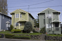 Casa urbana Immagini Stock