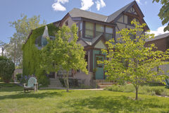 Casa urbana in Boise Idaho immagini stock