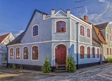 Casa urbana di Simrishamn Immagine Stock