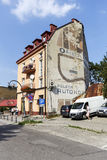 Casa urbana en Zakopane Fotos de archivo libres de regalías