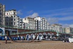 Casa urbana inglesa típica en Brighton Casa blanca Fotografía de archivo libre de regalías