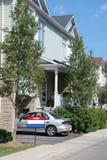 Casa urbana para la venta Fotografía de archivo