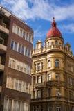 Casa urbana storica e moderna Fotografia Stock