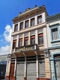 Casa urbana vieja Imagen de archivo libre de regalías