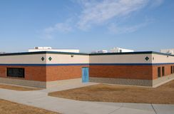 Casa vacía de la escuela Imagen de archivo libre de regalías