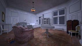 Casa vacante ilustración del vector