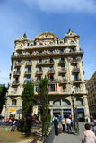 Casa Valentà Soler, παλαιά πόλη της Βαρκελώνης, Ισπανία Στοκ Φωτογραφία