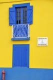 Casa variopinta a Aveiro Immagini Stock Libere da Diritti