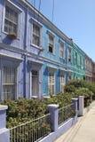 Casa variopinta a Valparaiso fotografia stock libera da diritti