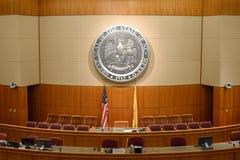 Casa vazia de New mexico da câmara dos representantes em Santa Fe imagens de stock royalty free