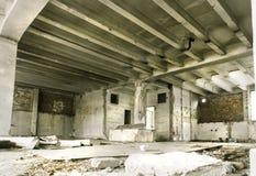 Casa vecchia del deposito Fotografia Stock