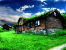 Casa velha Imagens de Stock Royalty Free