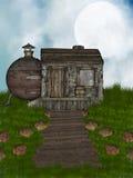 Casa velha Ilustração Royalty Free