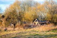 Casa velha abandonada fotografia de stock royalty free