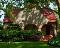 Casa velha bonita Foto de Stock Royalty Free