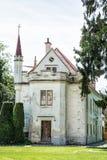 Casa velha bonita em Lednice, Moravia do sul, república checa Fotografia de Stock