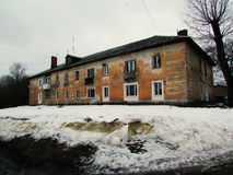 Casa velha da construção Foto de Stock