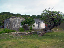 Casa velha da degradação Foto de Stock