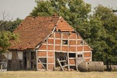 Casa velha da estrutura Fotos de Stock Royalty Free