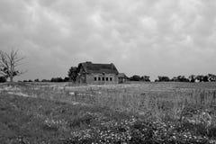 Casa velha da exploração agrícola Fotografia de Stock Royalty Free
