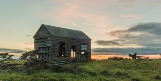 Casa velha da exploração agrícola Imagens de Stock