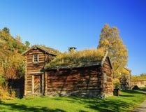 Casa velha da madeira Foto de Stock