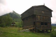 Casa velha da vila Imagem de Stock