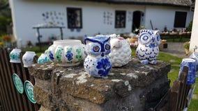 Casa velha das artes populares húngaras Fotos de Stock Royalty Free