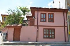 Casa velha de Eskisehir Imagem de Stock Royalty Free