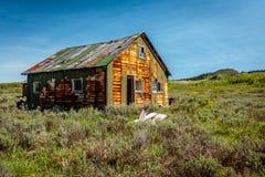 Casa velha de muitas cores Fotografia de Stock Royalty Free