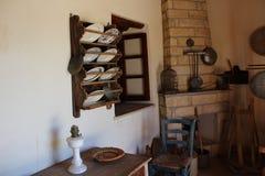 Casa velha de Paphos Imagem de Stock