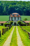 Casa velha do cocheiro fotografia de stock