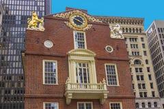 Casa velha do estado em Boston Foto de Stock