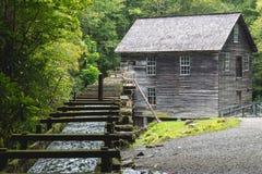 Casa velha do moinho em Great Smoky Mountains Fotografia de Stock Royalty Free
