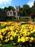 Casa velha do país de Lanhydrock, Bodmin, Reino Unido foto de stock