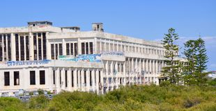 Casa velha do poder: Abandonado em Fremantle, Austrália Ocidental Foto de Stock Royalty Free