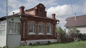 Casa velha do tijolo vídeos de arquivo