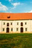 Casa velha do tijolo Fotos de Stock Royalty Free