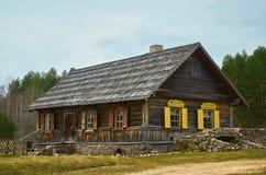 Casa velha dos crentes Foto de Stock Royalty Free