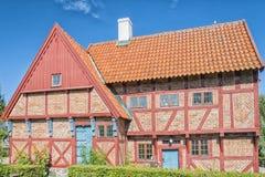 Casa velha dos prefeitos de Ystad Foto de Stock Royalty Free