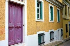 Casa velha em Atenas Fotos de Stock Royalty Free
