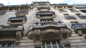 Casa velha em Paris, França Imagens de Stock Royalty Free