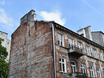 Casa velha em Varsóvia Imagens de Stock