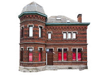 Casa velha isolada Imagens de Stock