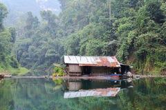 Casa velha Khao Sok Foto de Stock