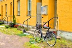 Casa velha na fortaleza Lappeenranta foto de stock royalty free