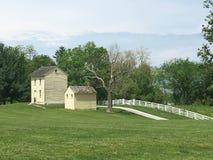 Casa velha na paisagem do país Foto de Stock Royalty Free