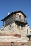 Casa velha. Nessebar, Bulgária fotografia de stock